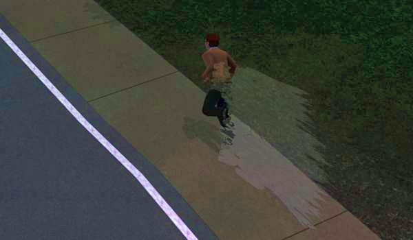Running like the wind in Sims 3