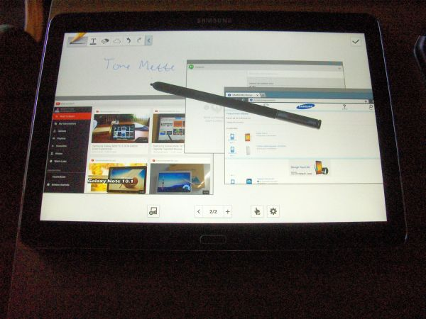 Galaxy note 10.1, 2014 edition
