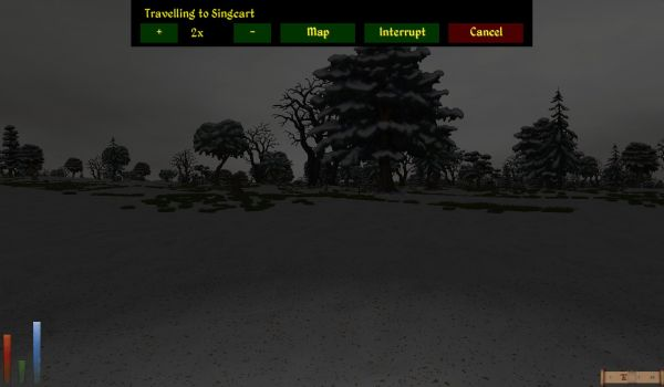 Screenshot Daggerfall, wilderness of Tulune.