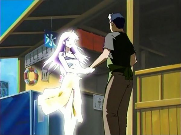 Screenshot anime Narue no Sekai