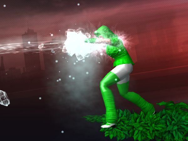 Screenshot from City of Heroes character generator