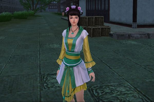Screenshot game Age of Wushu