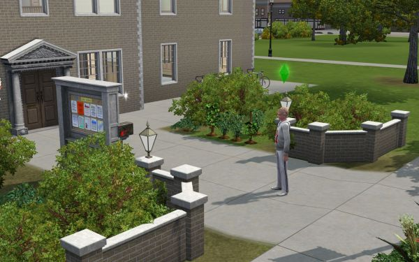 Screenshot Sims 3 University Life
