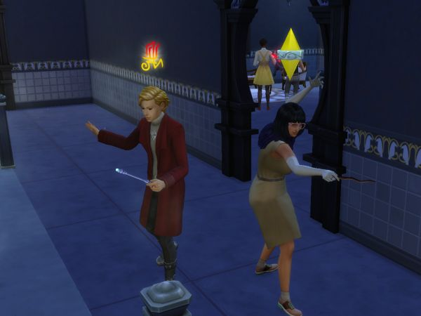 Screenshot Sims 4 Realm of Magic